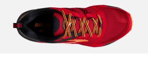 brooks-cascadia-12-red-black-orange -TIENDA-MALAGA-WERUN 5