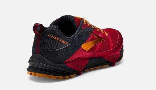 brooks-cascadia-12-red-black-orange -TIENDA-MALAGA-WERUN 7