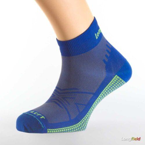 Calcetines-Longfield-Ultralight-Azul-eléctrico WERUN TIENDA MALAGA 1