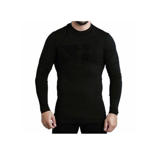 dadpa-camiseta-manga-larga-unisex-trail-running negra werun tienda malaga 1