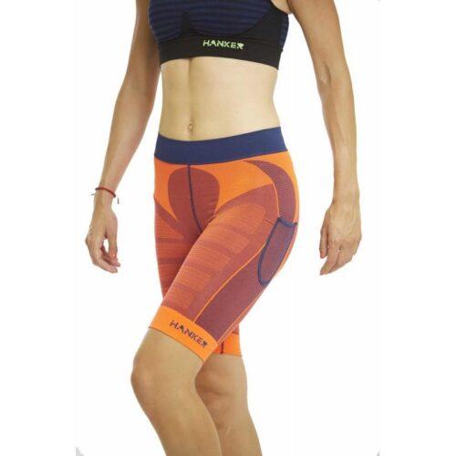 drag-malla-corta-unisex-trail-running naranja werun tienda malaga