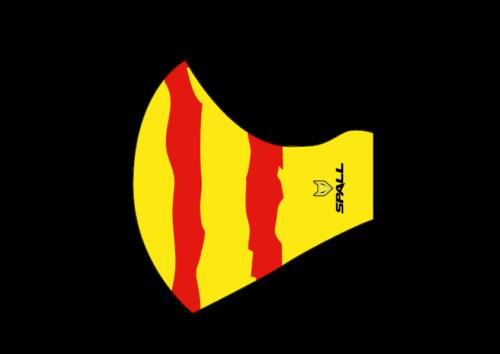 Mascarilla lavable y reutilizable Werun Cataluña 20