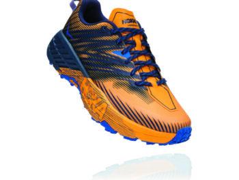 Hoka One One SpeedGoat 4 Azul Amarillo
