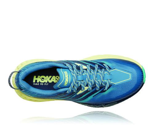 Hoka One One SpeedGoat 4 Azul Verde