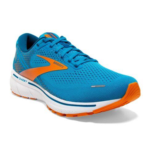 Brooks Ghost 14 Blue Orange
